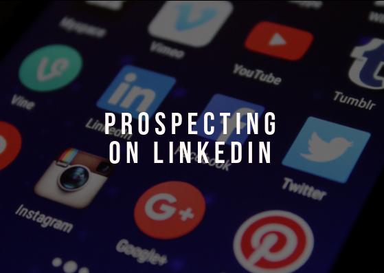 Prospecting on LinkedIn