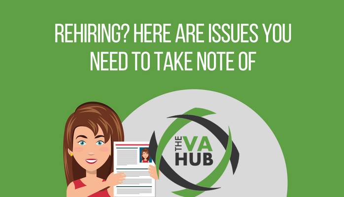 Rehiring? Here are Issues You Need to Take Note Of